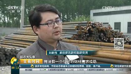 央视《交易时间》采访卓创资讯分析师刘