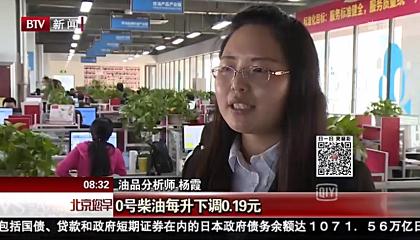 北京新闻《北京您早》采访卓创资讯分析