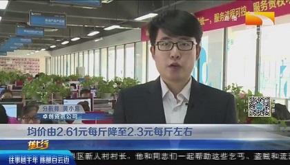 湖北垄上频道《垄上行》采访卓创资讯分析师黄小易