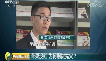 央视财经频道《央视财经评论》采访卓创资讯分析师杨军