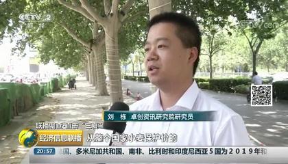 央视财经频道《经济信息联播》采访卓创资讯分析师刘栋