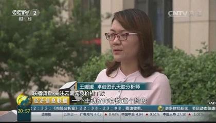 央视《经济信息联播》采访卓创资讯分析师王媛媛